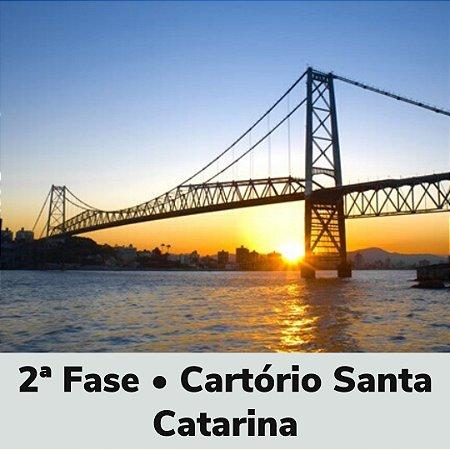 2ª Fase • Cartório Santa Catarina (Matérias Gerais + Específicas)
