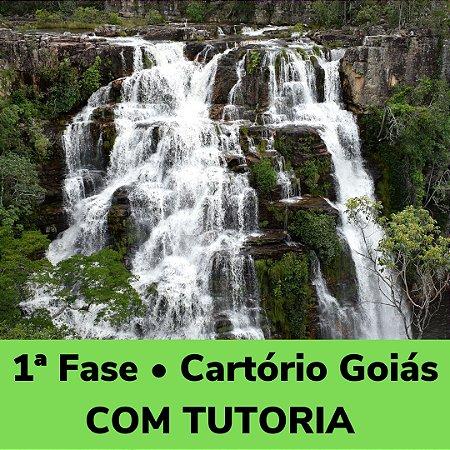 Estudo Diário - Curso completo com tutoria para a 1ª Fase • Cartório Goiás