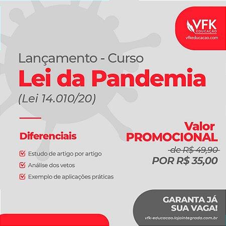 Curso Lei da Pandemia (Lei nº 14.010/2020)