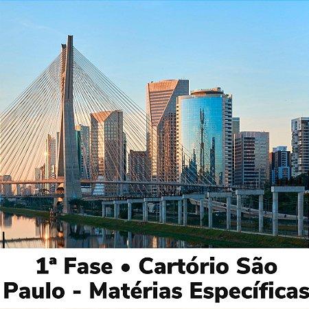 Estudo Diário - Curso Matérias Específicas para 1ª Fase • Cartório São Paulo