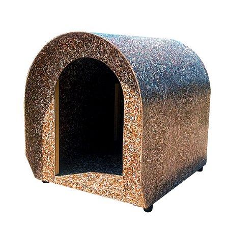 Casinha para cachorro reciclada porte medio
