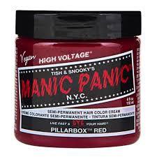 Manic Panic Pillarbox Red - Classic