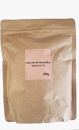 Extrato de Baunilha Natural em Pó - 500g (POUCH)