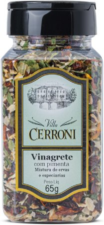 Vinagrete com Pimenta - 65g