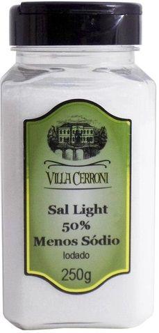 Sal Light (50% menos sódio) Iodado - 250g