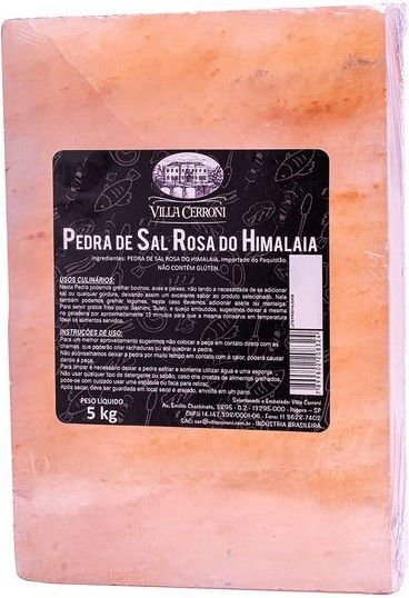 Pedra Sal Rosa do Himalaia
