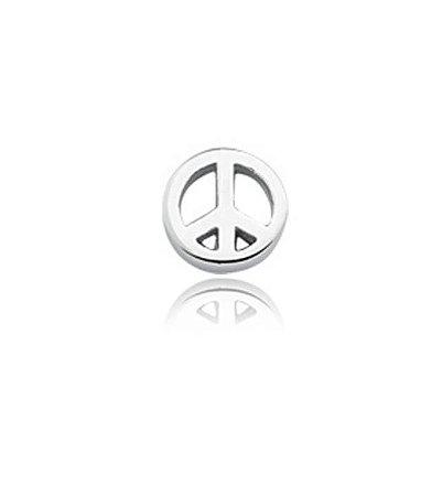 Mini Berloque Paz e Amor em Prata 925