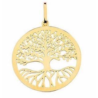 Pingente Árvore da Vida em Ouro Amarelo 18k
