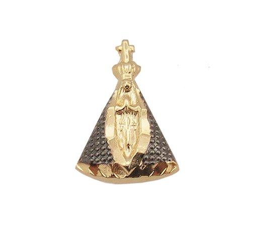 Pingente Nossa Senhora em Ouro 18k