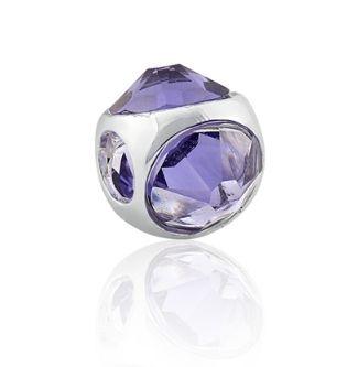 Berloque Cristal Tanzanite Swarovski