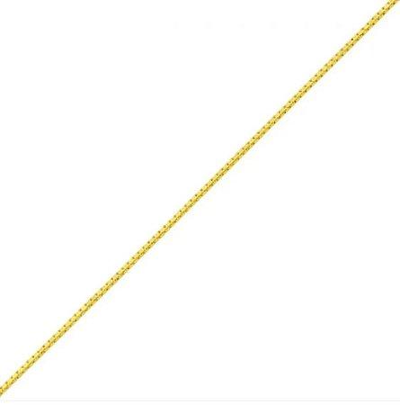 Pulseira Veneziana Em Ouro Amarelo 18k - 750