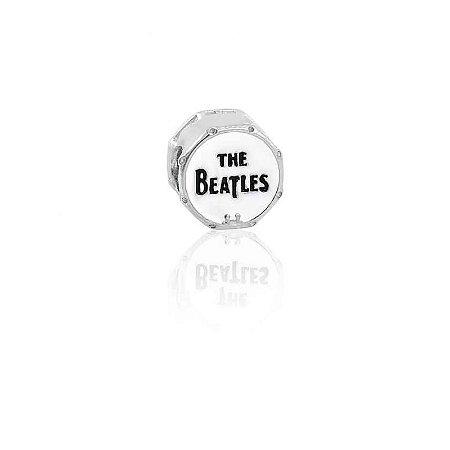 Berloque Bumbo The Beatles Em Prata 925 Com Ródio Branco E Resina