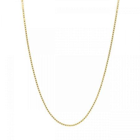 Corrente Veneziana em Ouro Amarelo 18k - 60cm