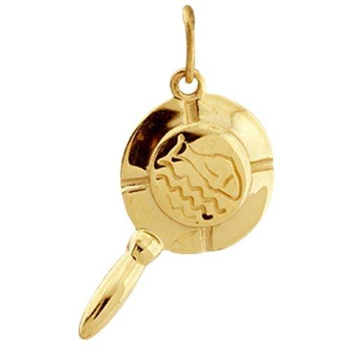 Pingente Iemanjá - Coleção Orixás em ouro amarelo 18k