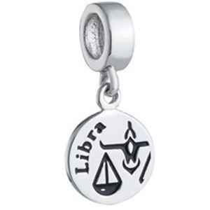 Berloque Signo de Libra em Prata 925 - Coleção Dreams