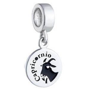 Berloque Signo de Capricórnio em Prata 925 - Coleção Dreams