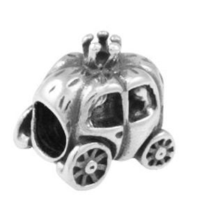Berloque Carruagem da Cinderela em Prata 925 - Linha Dreams