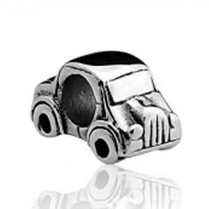 Berloque Carrinho em Prata Envelhecida 925 - Linha Dreams