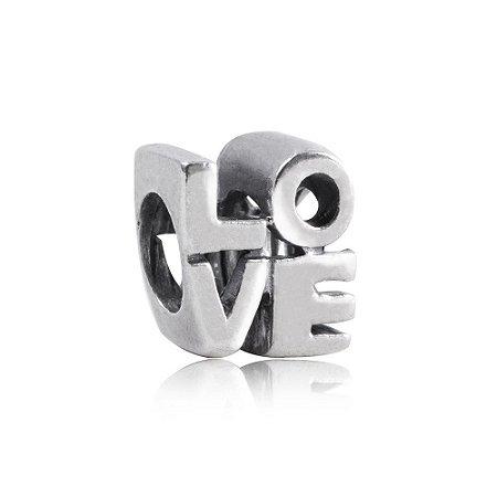 Berloque Love em Prata 925 - Linha Dreams