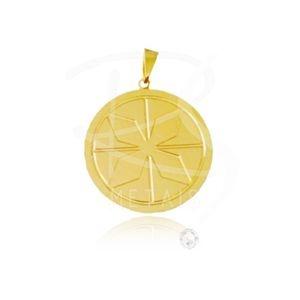 Mandala de Nanã - BANHADA a Ouro 18k-750