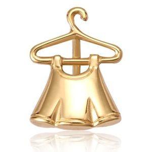 Pingente Sainha no Cabide em Ouro Amarelo 18k-750