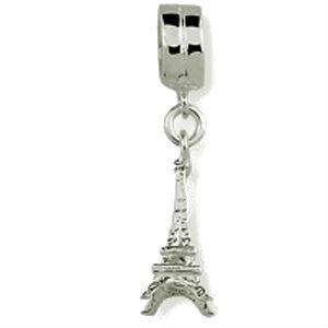 Berloque Torre Eiffel em Prata Envelhecida 925 - Linha Dreams