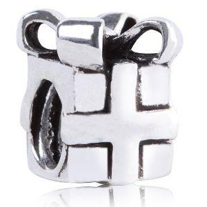 Berloque Presentinho em Prata 925 Envelhecida - Linha Dreams