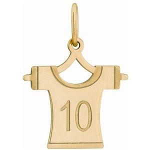 Pingente Camisa de Futebol em Ouro Amarelo 18K-750