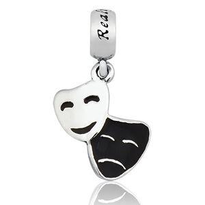 berloque Máscara de Teatro em Para 925 - Linha Dreams Com Ródio Branco