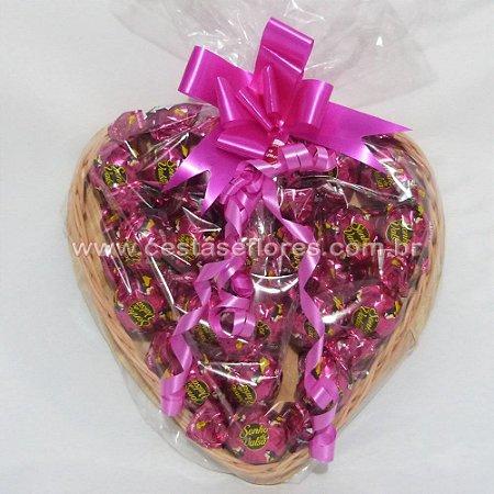 Coração de Chocolates Sonho de Valsa