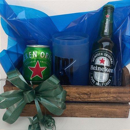 Cesta de Cerveja Heineken + Caneco Star Wars