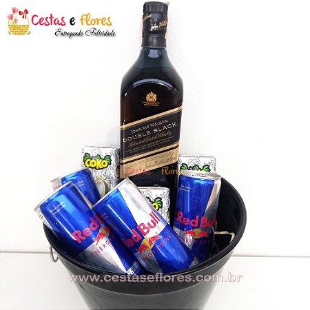 Balde Combo de Whisky Double Black