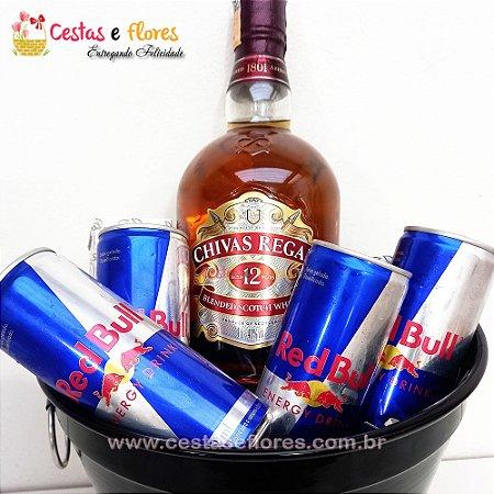 Balde Combo de Whisky Chivas Regal