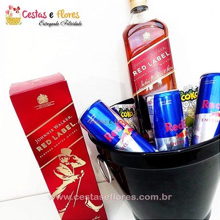 Balde Combo de Whisky Red Label