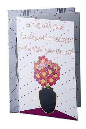 Cartão Amor 11,5 x 17,5  - 07