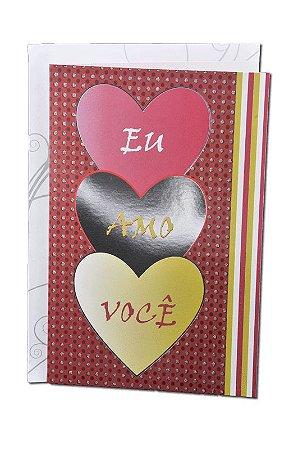 Cartão Amor 11,5 x 17,5  - 08