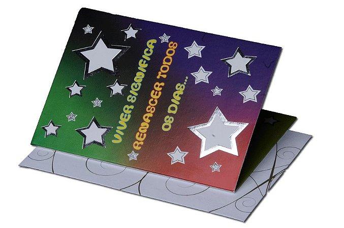 Cartão Aniversário 11,5 x 17,5  - 10