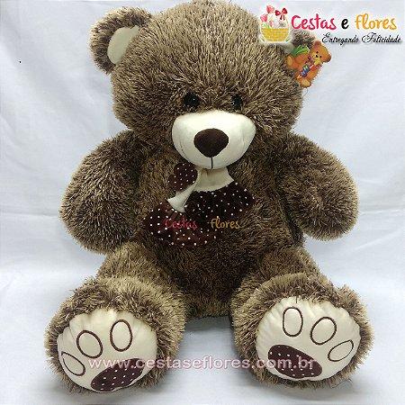 Urso de Pelúcia Peludinho