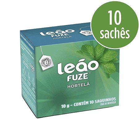 Chá LEÃO Fuse - Hortelã - 10 Sachês