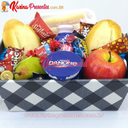 Cesta Master Café da Manhã com Chocolates