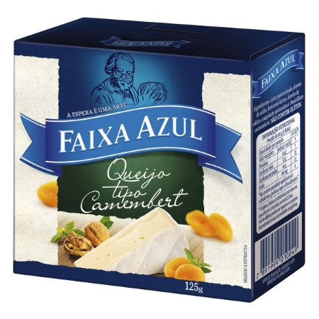 Queijo Camembert FAIXA AZUL 125g