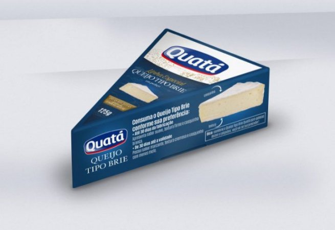 Queijo Tipo Brie Quatá Pedaço 125gr