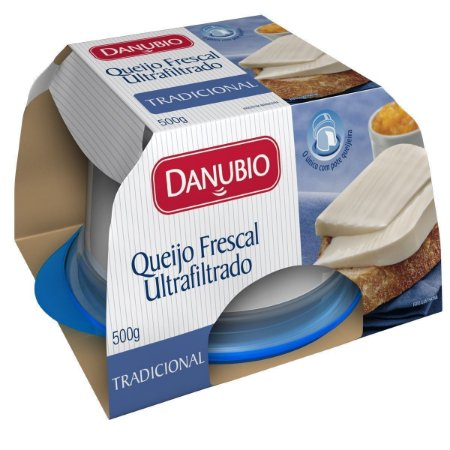 Queijo Minas Frescal DANUBIO Pote 500g