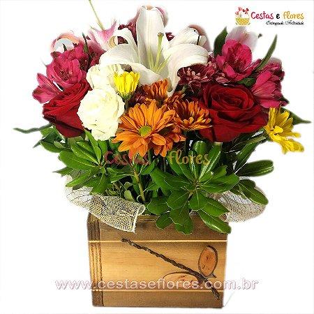 Vaso Mix de Flores do Campo