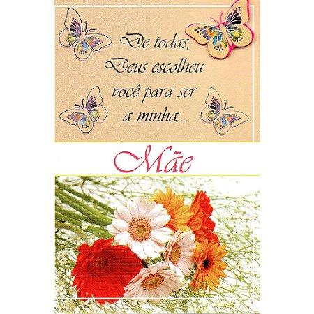 Cartão Dia das MÃES 08 x 11 - 12