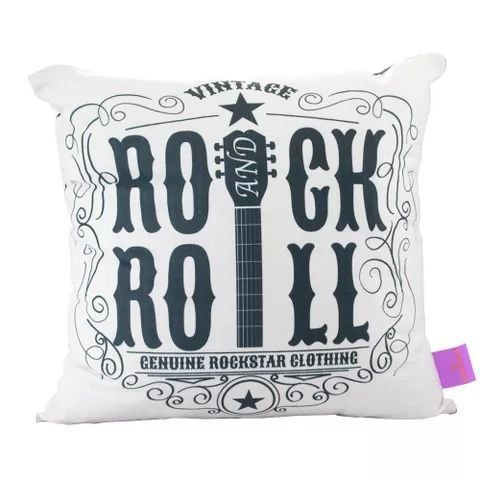 Almofada 40x40 - Rock and Roll