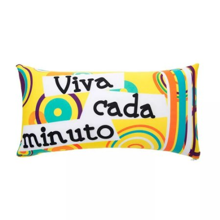 Almofada 20x40 - Viva cada Minuto