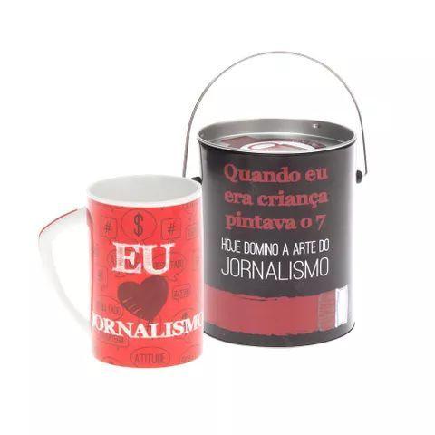 Caneca Profissões - Jornalismo