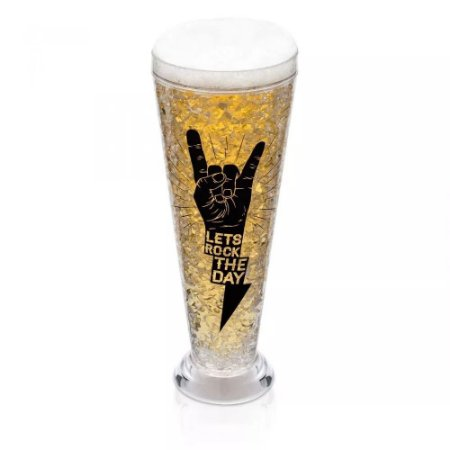 Caneca Tulipão Ice Gel - Lets Rock The Day