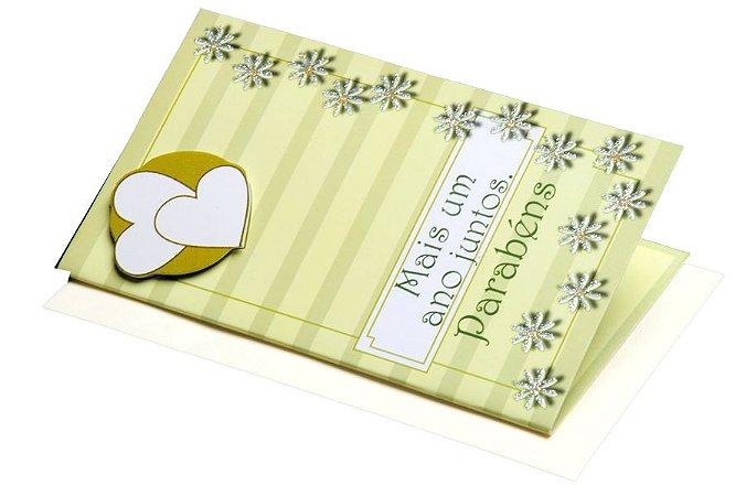 Cartão Casamento e Bodas 7,5 x 11  - 07